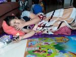 Kondisi Riska Pascaamputasi, Harus Jalani Kemoterapi 6 Kali di Jakarta