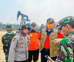Api Karhutla Ancam Ladang Minyak di Riau
