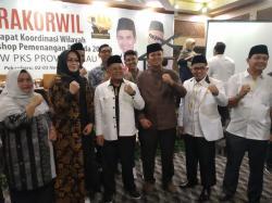 Andi Putra Hadiri Rakorwil PKS Riau