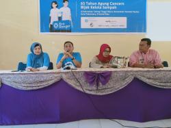 Agung Concern Latih Pengelolaan Sampah di Pekanbaru