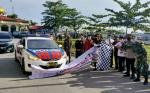 Gabungan Personel Apel Siaga Patroli Anti Politik Uang di Pelalawan