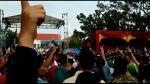 Luhut Pamerkan Kinerja Jokowi, Warga Bersorak dan Acungkan Dua Jari