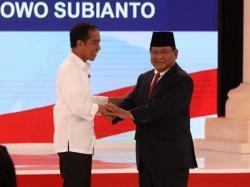 Perolehan Suara Joko Widodo dan Ma'ruf Amin Tinggalkan Angka 56 Persen