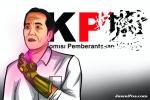KPK Tak Dilibatkan, Jokowi Abaikan Isu Pemberantasan Korupsi