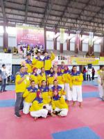 Kempo Riau Juara Umum Porwil X Sumatera