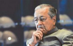 PM Mahathir Muhammad Sampaikan Selamat pada Joko Widodo