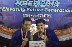 Tim Debat Bahasa Inggris PCR Meraih 3rd Runner Up pada NPEO 2019