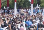 Prabowo Puji Jokowi di Solo, Salahkan para Penjilat