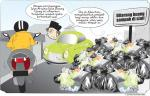 Sampah Dikeluhkan di Jalan Arwana