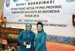 Ketua TP PKK Hadiri Rakor di Jakarta