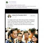Pernyataan Jokowi soal Impor TKA