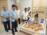 Kunjungi Riska Ramadila, KONI Riau Beri Dukungan dan Motivasi