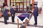 Bupati Lantik Drs H Jamaluddin MSi Jadi Penjabat Sekda
