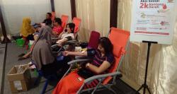 CS Mal Gelar Kegiatan Donor Darah Bersama PMI
