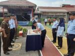 Lapas Kelas II A Bagansiapiapi Canangkan Zona Integritas