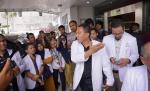Tiga Dokter Ditahan, Ratusan Dokter Datangi Kejari Pekanbaru