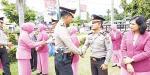 64 Personel Polres Kampar Naik Pangkat