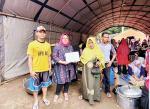 Bank bjb Serahkan Bantuan Korban Banjir