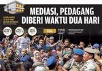 Mediasi, Pedagang Diberi Waktu Dua Hari