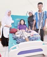 Polres Tanggung Operasi Amputasi Nuri