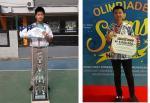 Siswa SMP dan SMA Witama Raih Medali Emas