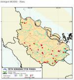 Pelalawan Hanya 400 Meter, Hotspot Terpantau 141 Titik di Riau