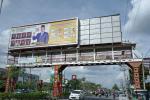 Ada Iklan Melawan Corona DPRD di JPO yang Diduga Ilegal