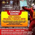 Tokoh Joker Tampil di Poster Operasi Zebra