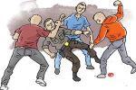 Lerai Pertengkaran, Polisi Dikeroyok
