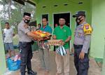 Kapolsek Hulu Kuantan Bantu Kelurga Korban yang Tertimbun