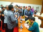 Audiensi ke Sekjen DPR, Mahasiswa: Kami Tolak Pengesahan Revisi UU KPK