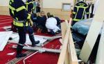 Mobil Tabrak Masjid Agung Alharam, Pengemudi Bersimbah Darah
