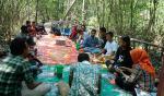 Warga Sungai Tohor Ikuti Pelatihan Jurnalistik