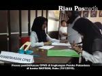 Proses pemberkasan CPNS di lingkungan Pemerintah kota Pekanbaru