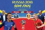 Ini Data dan Fakta Menarik Perancis dan Belgia Jelang Semifinal