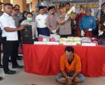 Polres Siak Amankan Narkoba Senilai Rp15, 6 Miliar