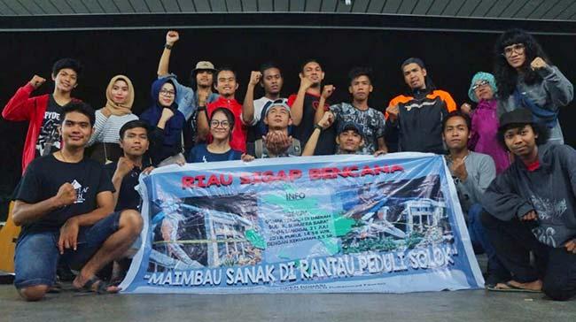Komunitas Riau Peduli Bencana, Galang Bantuan Demi Kemanusiaan