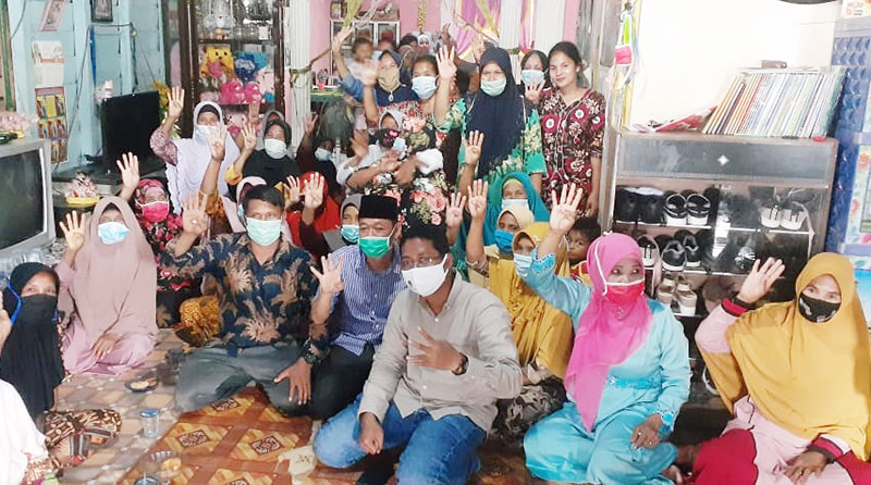 Kampanye di Palika, AMAN Janji yang Terbaik untuk Rohil