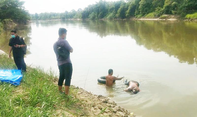 Warga Kota Lama Ditemukan Tewas Mengapung di Sungai Rokan