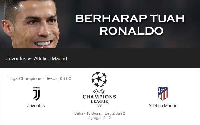 Berharap Tuah Ronaldo