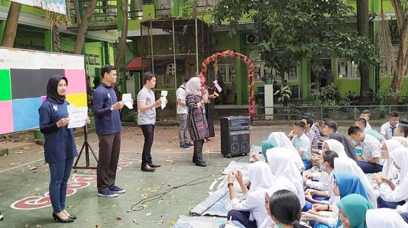 Balai Bahasa Riau Selenggarakan Sastranesia di Tiga Sekolah