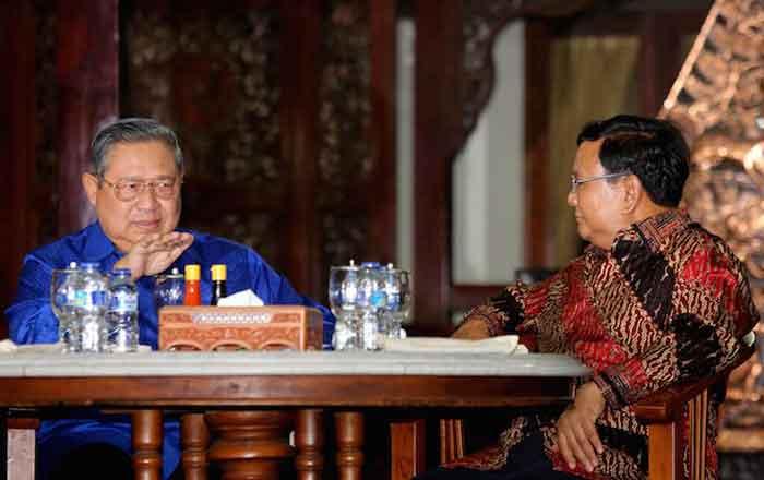 Prabowo Ternyata Titip Pesan ke SBY, Ini Isinya Kata Elite Demokrat