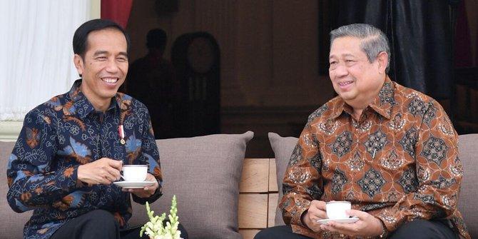 Jokowi dan SBY Bertemu, Bahas Kabinet, Koalisi, dan Ekonomi