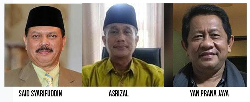 Pansel Umumkan Tiga Nama Calon Sekdaprov Riau