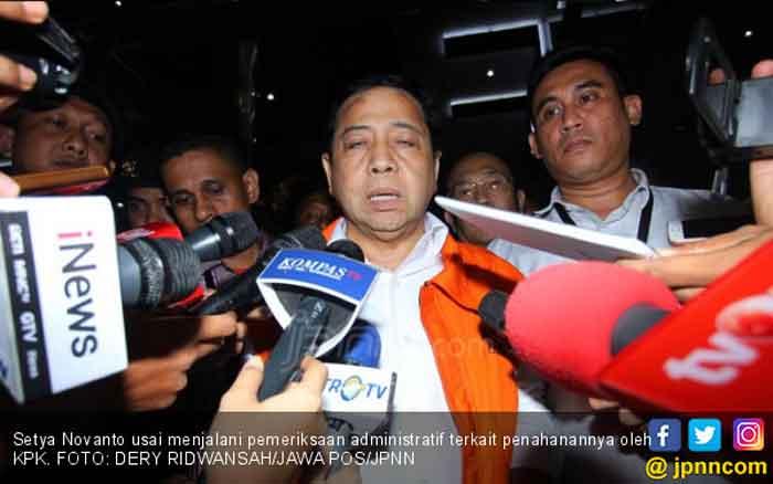 KPK Minta Kemenkumham Periksa Sel Nazaruddin dan Setnov