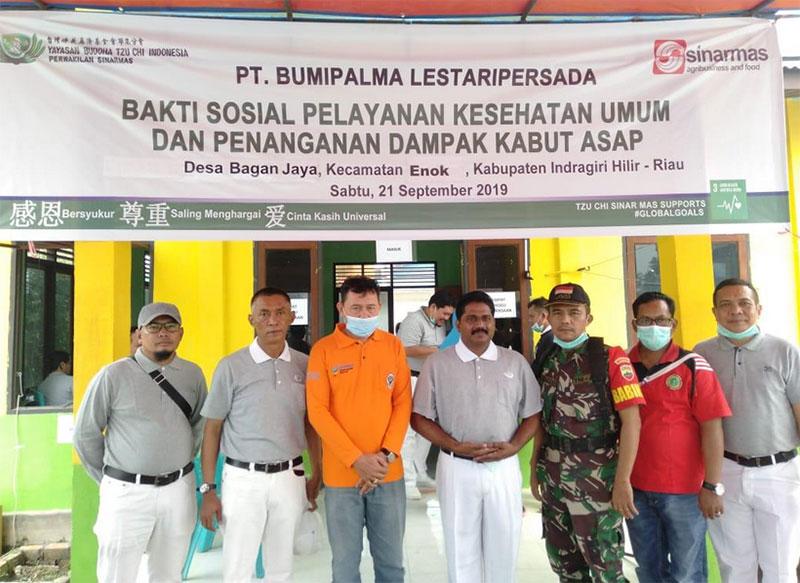 Relawan TZU CHI Sinar Mas Melalui PT BPLP Gelar Pengobatan Gratis