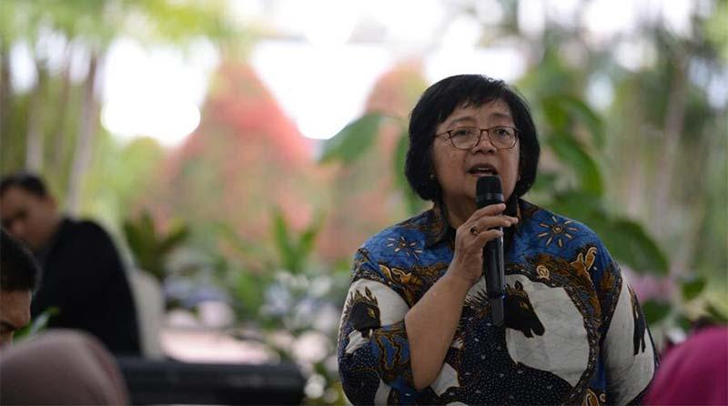 Menteri Siti Nurbaya Sampaikan Terima Kasih kepada Seluruh Jajaran KLHK