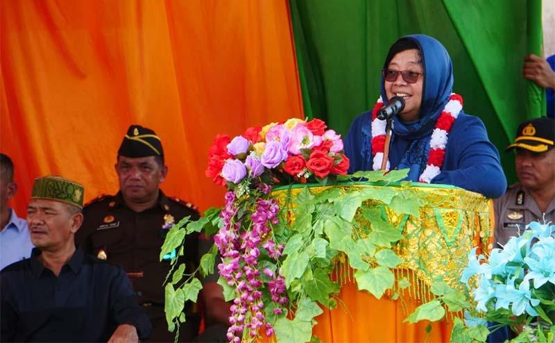 Ke Aceh Singkil, Menteri Siti Serap Aspirasi Masyarakat