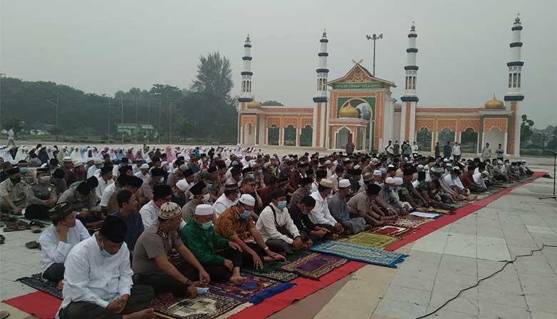 Doa Istighosah di Dumai, Tidak Dihadiri Pejabat Teras Pemko Dumai