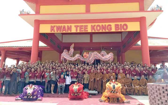 200 Anggota PORPI Kunjungi Kwan Tee Kong Bio